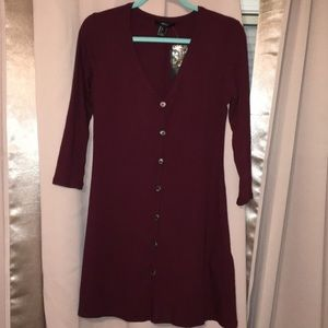 Forever 21 button dress